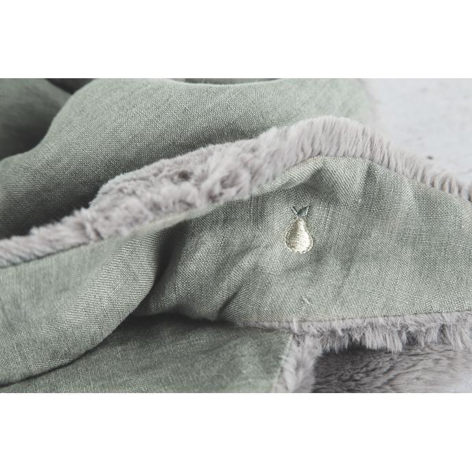 Foulard Vert de gris - poire